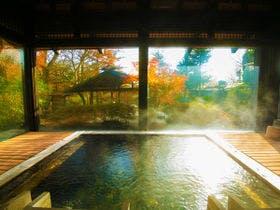 猿ヶ京温泉で趣のある温泉宿