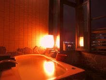 祥山の客室風呂
