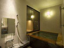 【651号室・青丹】温泉内風呂付客室の一例