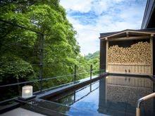 大浴場直結の露天風呂
