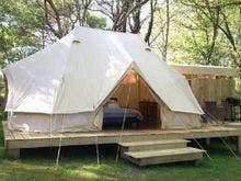 4m×6mのゆったり広々テント