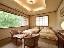 展望風呂特別室【皇海】のベッドルーム