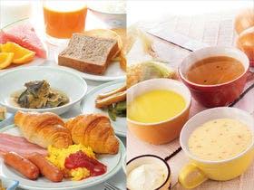 朝食バイキング無料サービス