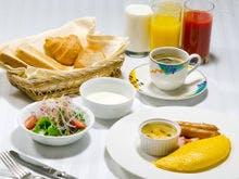 ご朝食(洋食一例)