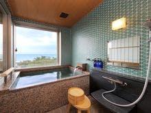 NEW:温泉半露天風呂付き和洋室[6F]