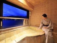 レークビュー和(なごみ) 露天風呂