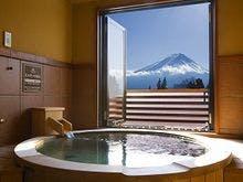 富士眺望露天風呂スイートルーム露天風呂