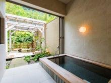 プレミアムスイート 花の内風呂