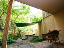 地 専用ガーデンと露天風呂