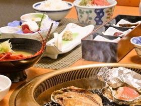 【朝食一例】金目鯛の味噌焼やアジの干物