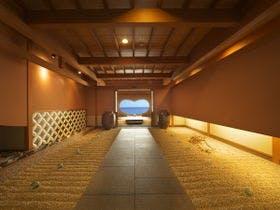 【玄関】石花海のハートがお出迎え♪