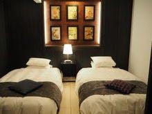 【SP】和ベッドルーム/セミダブルサイズ2台