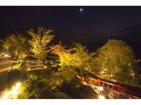 黒川温泉へ親子旅。足が悪い親でも安心して入れるおすすめの温泉宿を教えてください。