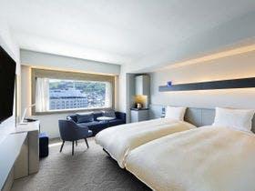 【開業2周年記念】デラックスツインルーム(5階~6階)を特別価格で!<朝食付>