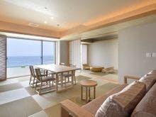 露天風呂付客室浜水晶 特別室一例