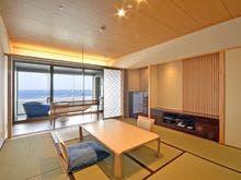 露天風呂付客室浜水晶 和室一例