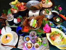 ブリしゃぶと牛肉会席(ランクアップ料理)