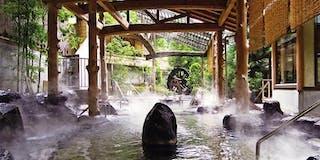 露天風呂「逢水の湯」