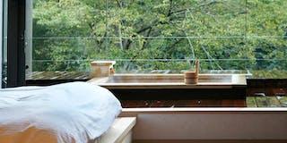 湯坂側客室専用露天風呂 一例