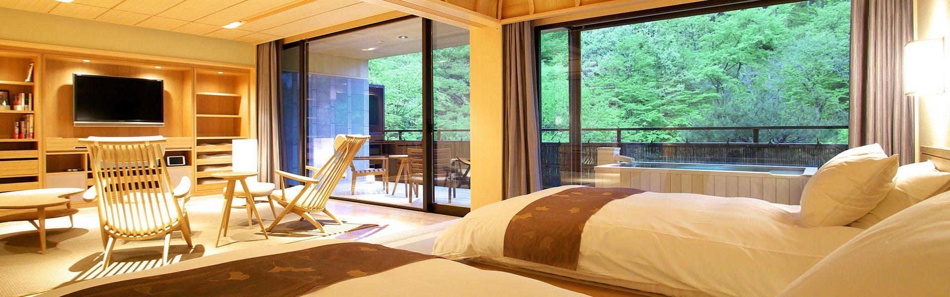 記念日におすすめのホテル・奥伊香保 旅邸 諧暢楼(かいちょうろう)の写真1