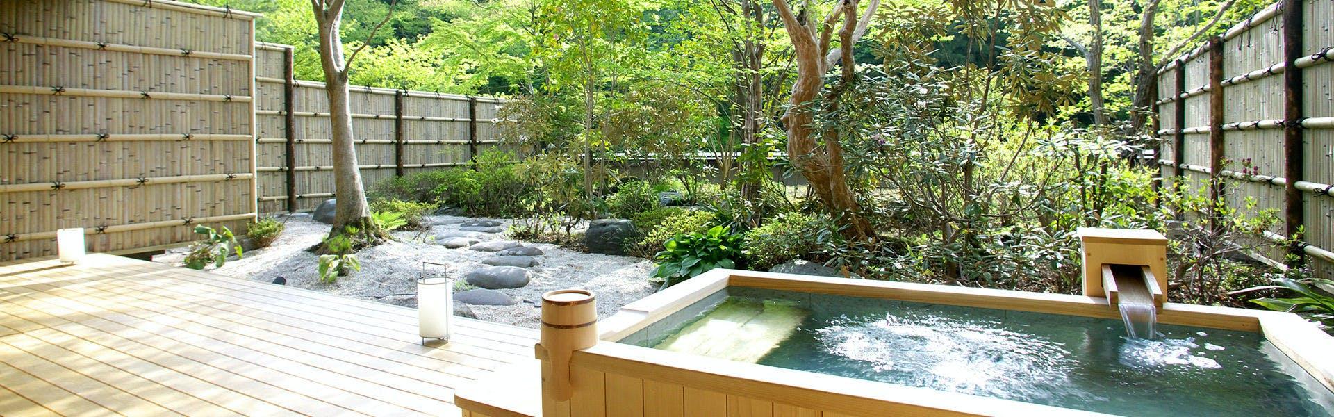 1階客室庭園・露天風呂