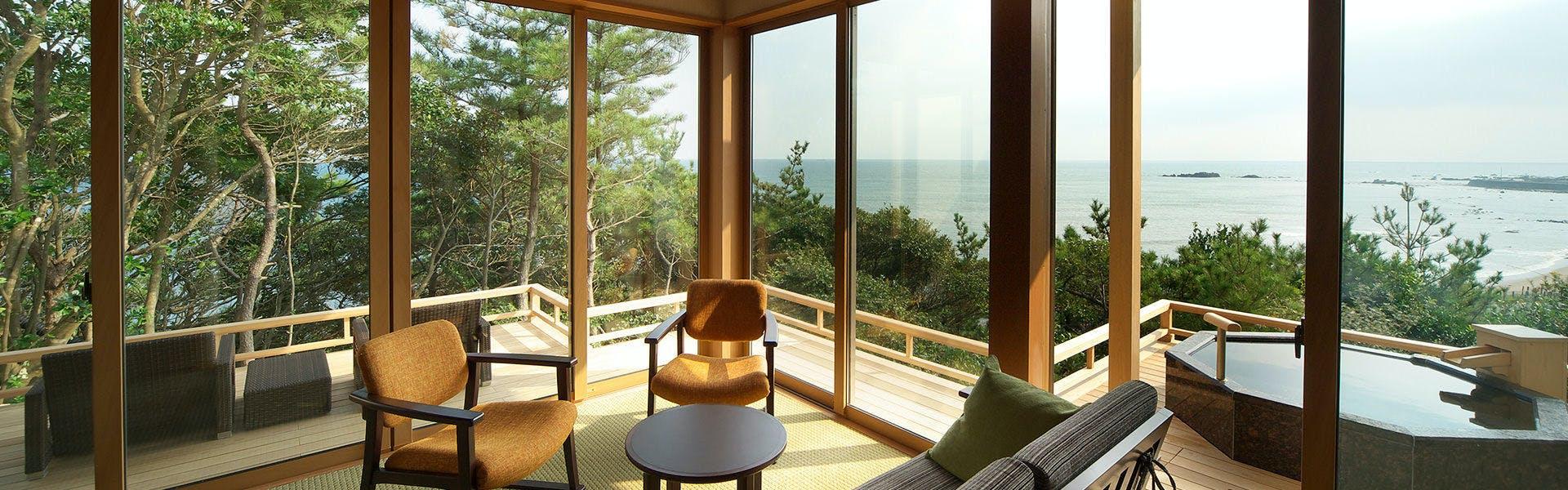 記念日におすすめのホテル・【別邸 海と森】の写真2