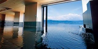 温泉展望浴場「湖空の湯」