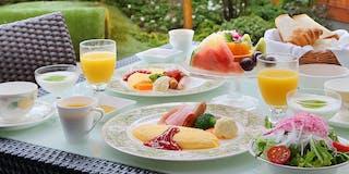 朝食ルームサービス一例
