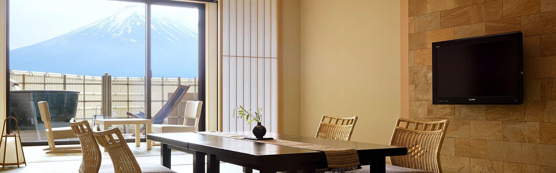 記念日におすすめのホテル・富士河口湖温泉 湖南荘の写真2