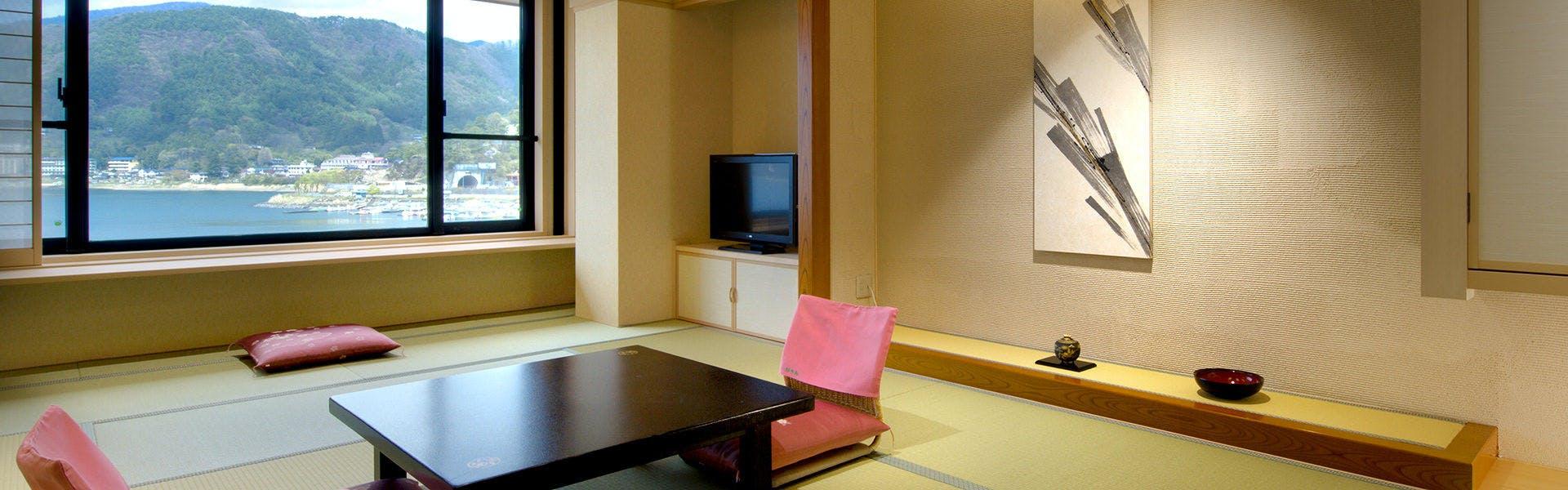 記念日におすすめのホテル・富士河口湖温泉 湖南荘の写真3