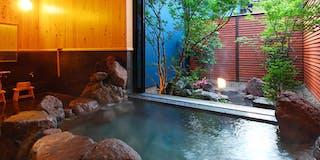 客室付温泉一例