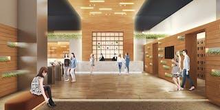 広さ3,000平米の温浴施設「泉天空の湯 有明ガーデン」