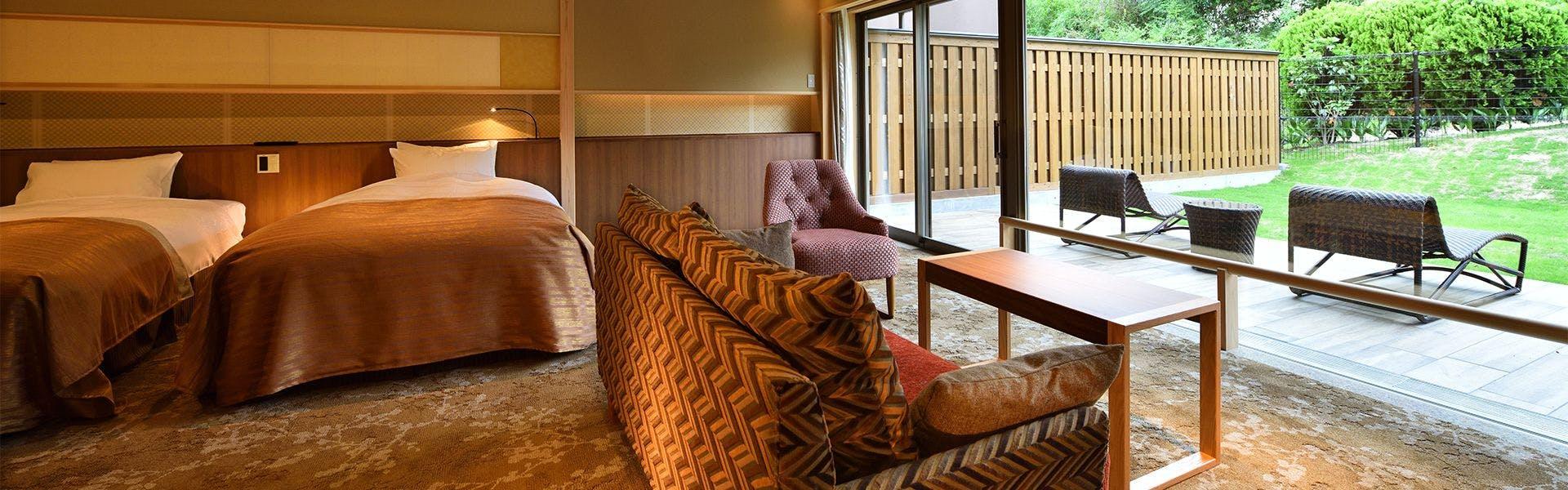記念日におすすめのホテル・【びわ湖松の浦別邸 愛犬と泊まる湖畔の温泉リゾート】の写真3