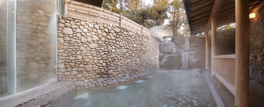 野天風呂(女性用)「観音の湯」