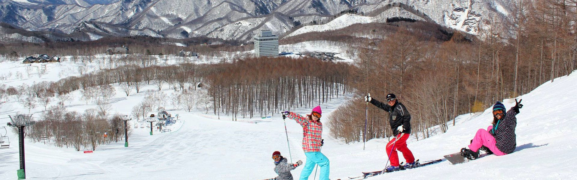 スキー全景