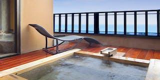 雪タイプの露天風呂