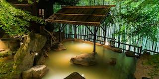 大露天風呂 竹林の湯