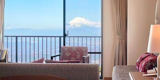 お部屋により富士山または、天城連山を眺望できるマウンテンビュー