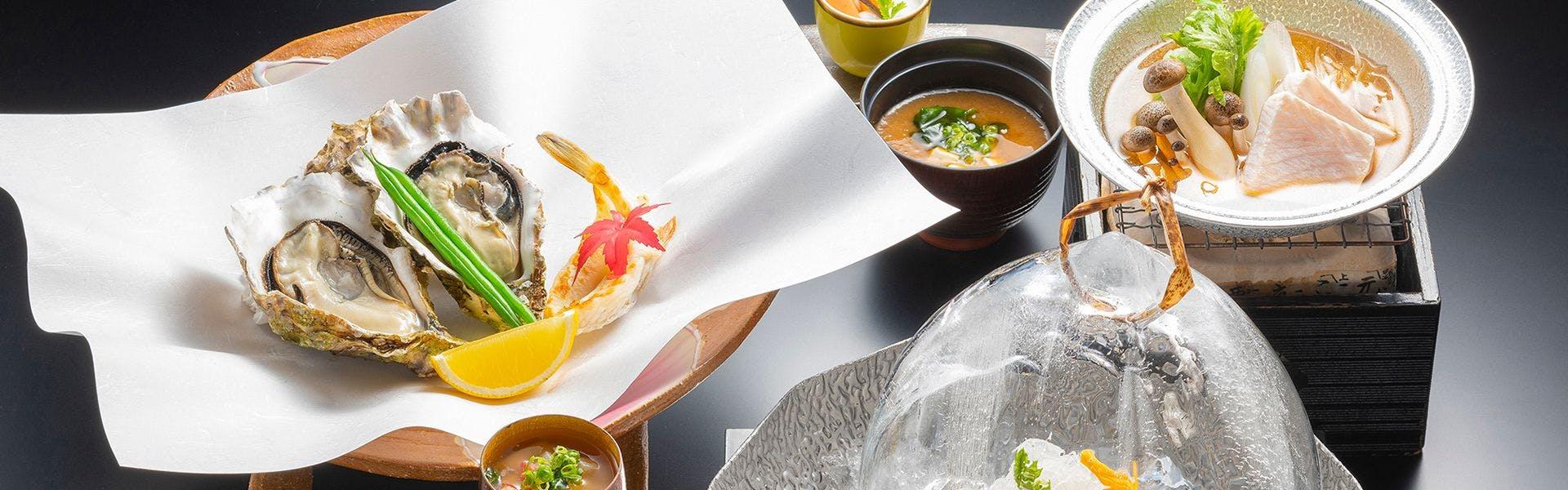 日本食「雅庭」会席料理イメージ