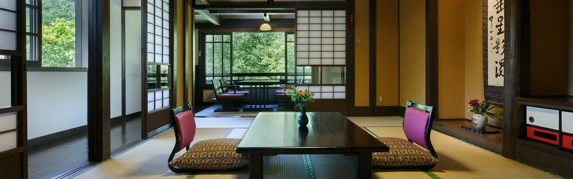 記念日におすすめのホテル・【黒川温泉 山あいの宿 山みず木】の写真2