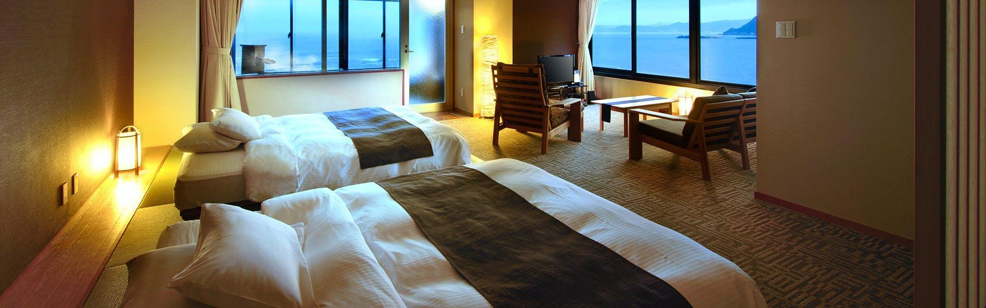 記念日におすすめのホテル・「浜辺の湯・浪漫の歌」 宿 中屋の写真2