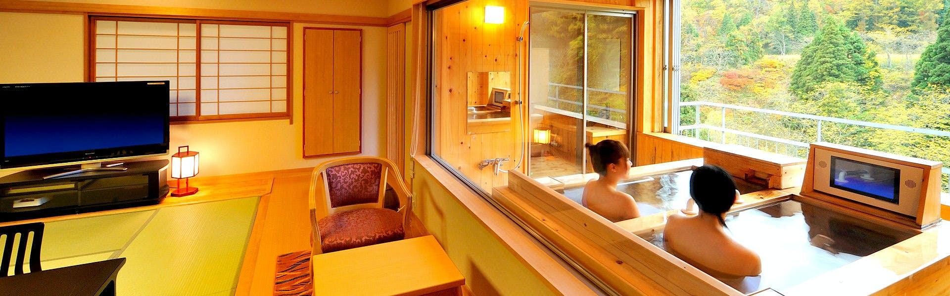 記念日におすすめのホテル・【銀山温泉 仙峡の宿 銀山荘】 の空室状況を確認するの写真2