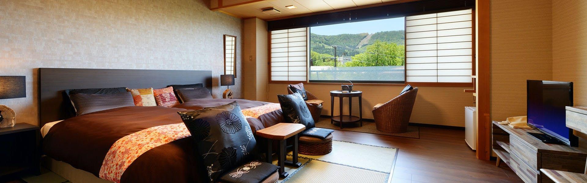 記念日におすすめのホテル・蔵王温泉 和歌(うた)の宿 わかまつやの写真2