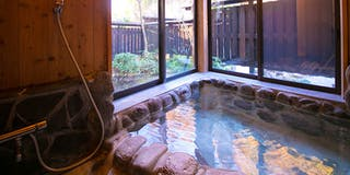 ゆずり葉 客室風呂