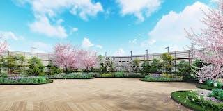 日本庭園「春」