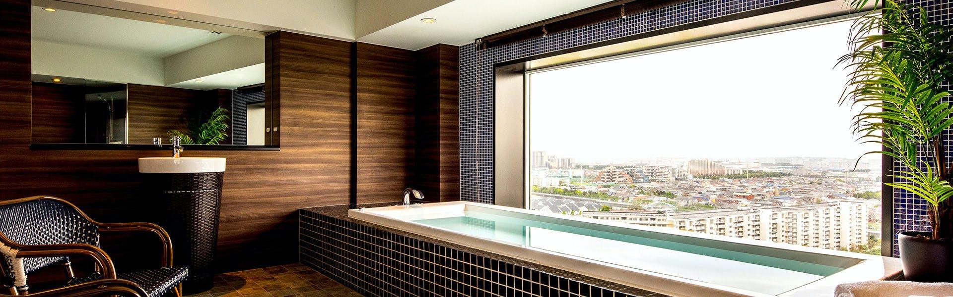 バストイレ別のお部屋で、浦安市のおすすめホテル・旅館 宿泊予約は