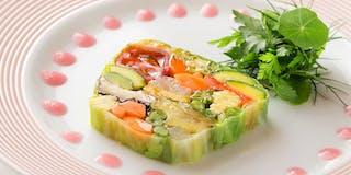 レストラン「ソノマ」料理
