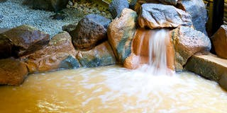 露天風呂 つづみの湯
