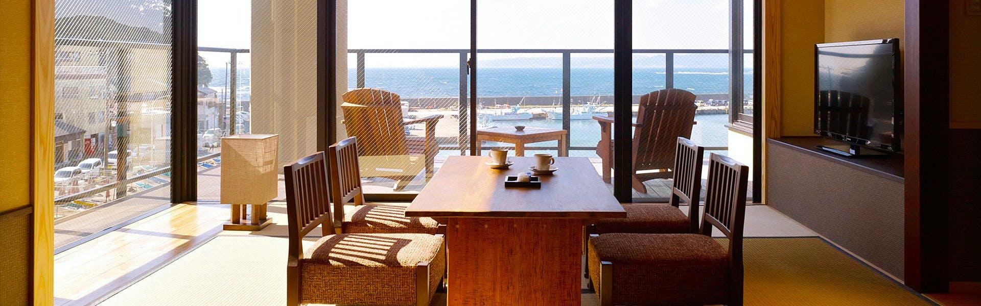 記念日におすすめのホテル・魚彩和みの宿 三水の写真2
