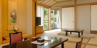海側【露天付/最上階特別室】和室15帖+7帖洋室 58平米